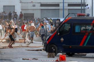 اعتقال 6 أشخاص من بين المشاركين في مسيرة الحسيمة