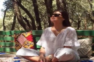 شاهد كيف تستمتع مريم سعيد بعطلتها الصيفية