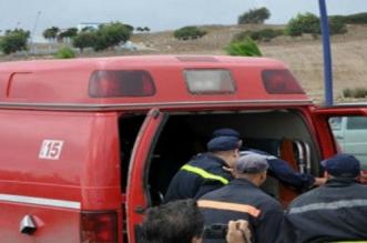 اصطدام عنيف بين سيارتين يُخلّف جرحى باشتوكة