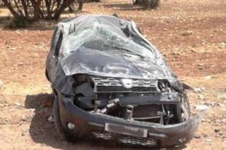 قتيلان وجريحان في حادث انقلاب سيارة قرب تارودانت
