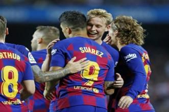 برشلونة يتلقى خبرا سارا قبل لقاء أوساسونا