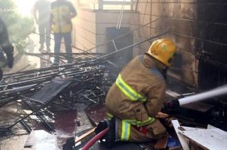 """حريق مهول يودي بحياة 8 مصابين بـ""""كورونا"""" في الهند"""