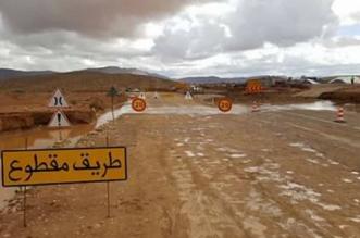 قبل موسم الشتاء.. انقطاع طريق نواحي ورزازات بسبب الأمطار