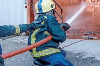 حريق مهول بسوق في الحسيمة