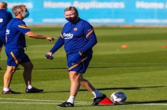 كومان يتحدث عن مصيره مع برشلونة بعد رحيل بارتوميو
