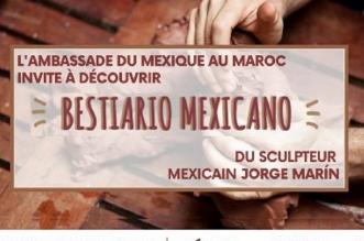"""سفارة المكسيك بالمغرب تدعو لاكتشاف عمل """"الحيوان المكسيكي"""" للنحات خورخي مارين"""