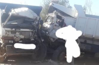 اصطدام مروع لشاحنتين في العرائش وحديث عن إصابات -صور