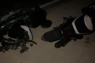 """خطير.. 4 قتلى في حادث اصطدام دراجتين ناريتين من نوع """"ريمكو"""" بآسفي"""
