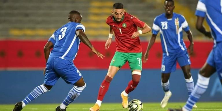 القناة الناقلة لمباراة المنتخب المغربي المحلي اليوم